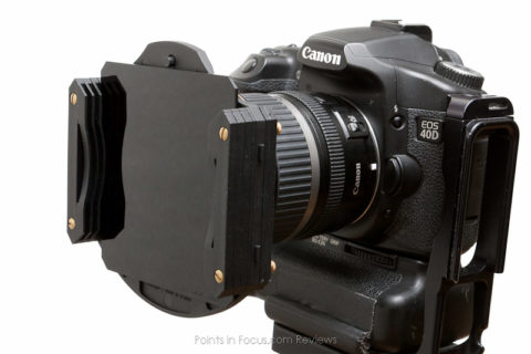 Cokin Z-Pro holder with 10-stop ND filter in rear most slot.