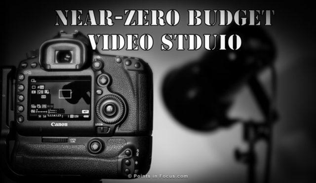 Near Zero-Budget Video Studio Project