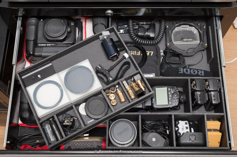 Storing Your Camera Gear Points In Focus Photography