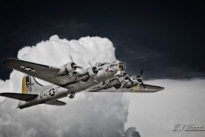 Classic B-17 In Flight