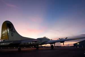 Predawn B-17