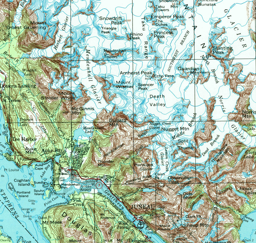 juneau icefield map bnhspinecom