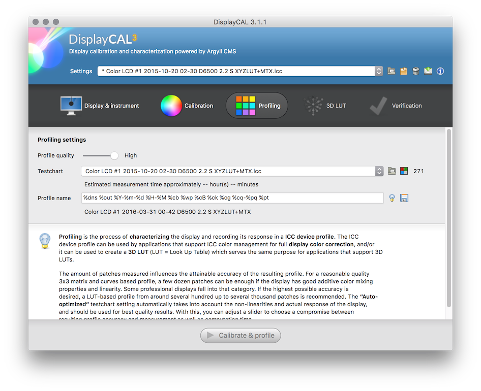 DisplayCAL and Argyll CMS: Quick Start Guide • Points in Focus