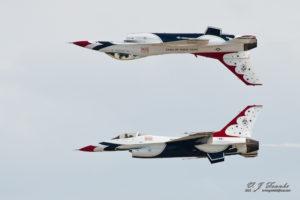 Tail to Tail Thunderbirds