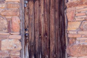 Whethered Door