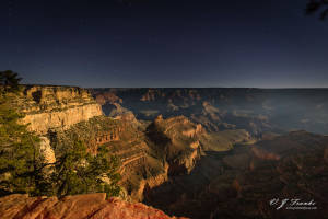 Grand Canyon Moonlight