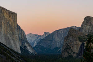 Yosemite Valley Twilight