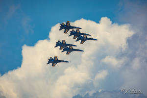 Blue Angles Formation